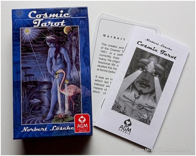 Cosmic Tarot Cards image 1