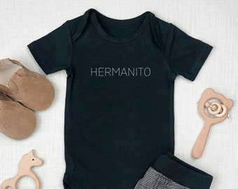 Hermanito | Little Brother (m) | Mexican | Spanish | Latin | Gender Reveal | Specialty Ethnic Onesie | Espea