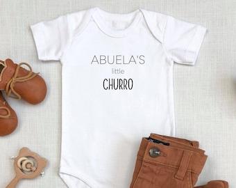 Abuela's Little Churro | Grandma | Mexican | Spanish | Latin | Pregnancy Announcement | Specialty Ethnic Onesie | Espea