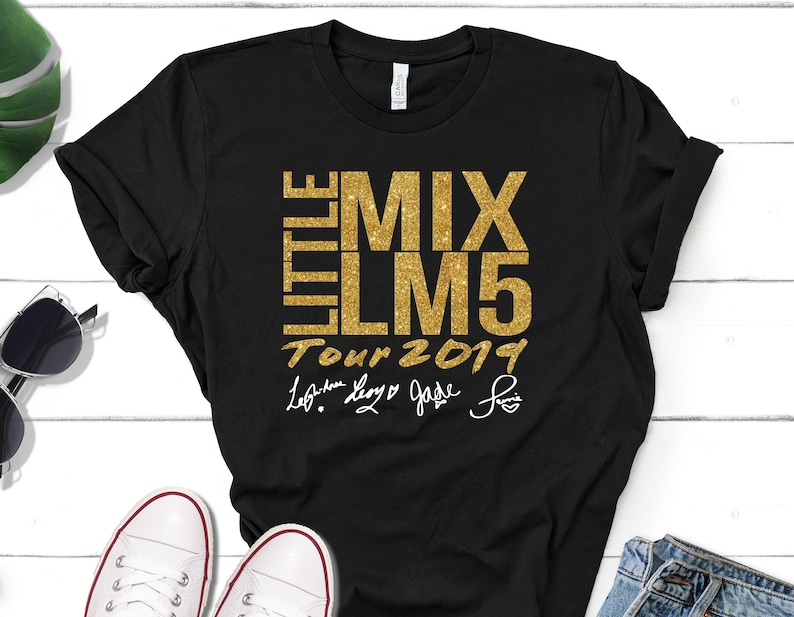 LITTLE MIX LM5 TOUR 2019 TEE T Shirt Adults Unisex KidS Tee Tops Toddlers TEE
