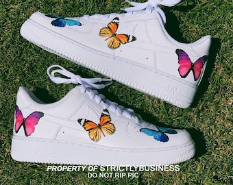 butterfly nike air force 1 damen