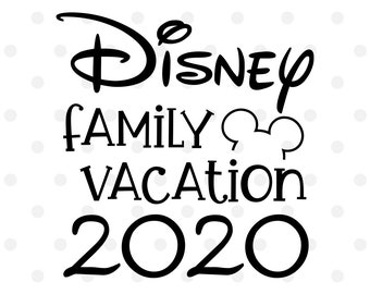 Disney Family Svg Etsy