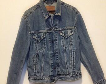 f6112c20 Levis Vintage 1970s Denim Jacket Medium 70503 02 Collectors Item
