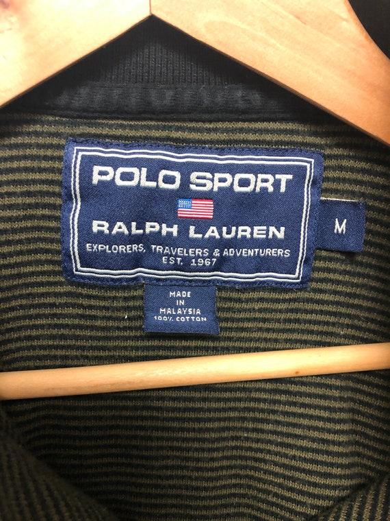 Vintage Polo Sport Striped Shirt - image 3