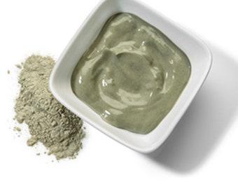 Sea Moss Neem Hibiscus Milk & Honey face mask to Clear, Lighten, Shrink, Tone skin