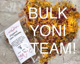 Bulk order of yoni steam. Bulk yoni oil samples size only. Yoni Steam Organic Vaginal Steam Herbs for feminine health.