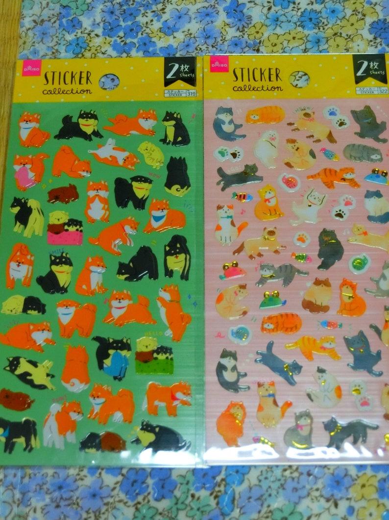 kawaii stickers some has 2 sheet.3.5USD each