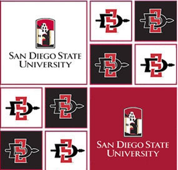 NCAA San Diego State Aztecs Logo Pin
