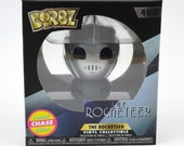 The Rocketeer Dorbz Funko Pop Vinyl Figure 405 Limited Silver Chase Edition Disney Rocketeer Figure New in Box