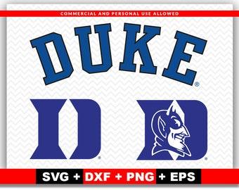 Duke blue devil | Etsy