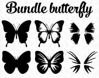 Butterflies Svg File Etsy