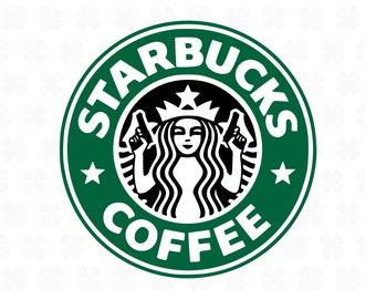graphic regarding Starbucks Logo Printable referred to as Starbucks symbol Etsy