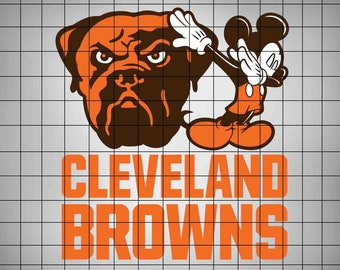 3b9544cb0ccd Mickey Mouse Dab Browns SVG,Football Logo Svg,Svg Files,Cut files,Vector  Cut File,American Football SVG,Files for Cricut,Silhouette Cameo