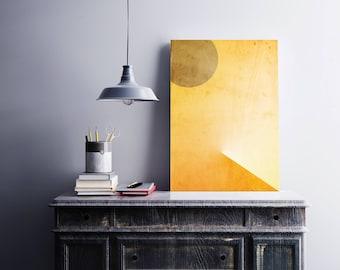 EGYPT SUN I Geometric art, Abstract wall art, Scandinavian art, Home decor, Sand, Wall prints, Modern art