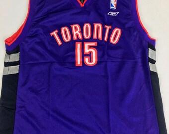 c9fe1273f9e Toronto Raptors Jersey Vince Carter Jersey Vintage Toronto Raptors Jersey  Purple Jersey Youth L 14-16