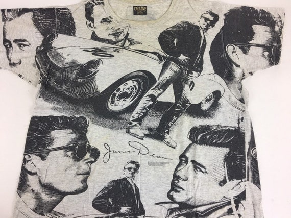 Vintage James Dean shirt 1994 All Over Print shirt