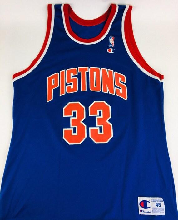 Vintage Detroit Pistons Jersey Grant Hill Jersey V