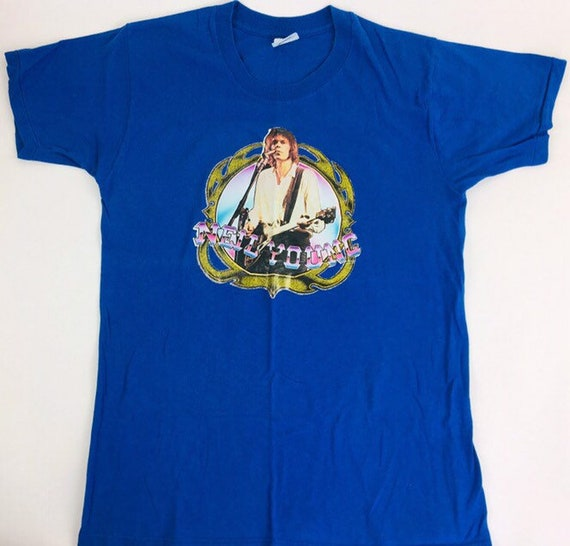 Vintage Neil Young shirt 1980s Concert Shirt Band