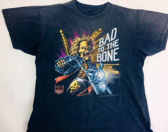Vintage American Biker shirt Bad to the Bone Vinta