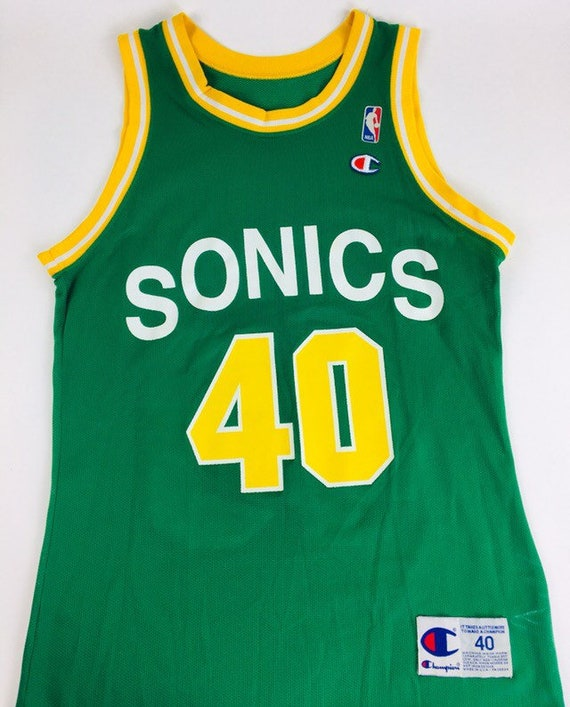 Seattle Supersonics Jersey Sean Kemp