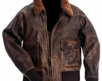 af22f46a5 Aviator jacket | Etsy