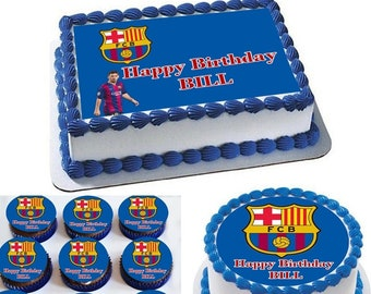 Barcelona Cake Etsy