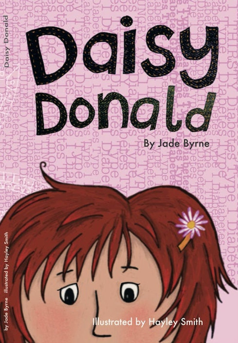 Daisy Donald Children's book by Jade Byrne Illustrated image 0