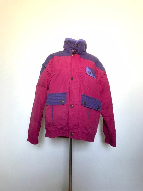 Rosy Cheeks Jacket - 1980s ski puffer jacket