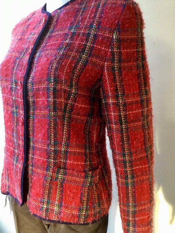 Genuine vintage Burberry tartan jacket