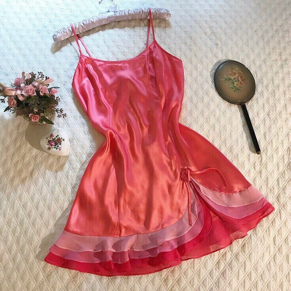 Vintage Victoria's Secret 100% Silk slip dress