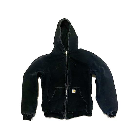 1990's Union Made Carhartt Active-Jac Hooded Jacke