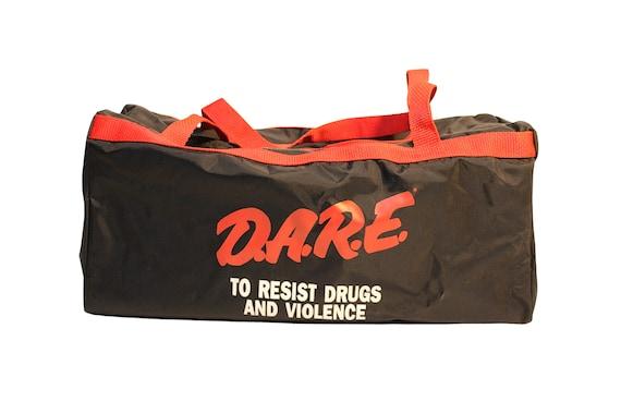 Vintage 1990s D.A.R.E. Duffel Bag Deadstock