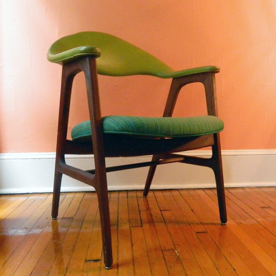 Sensational Mid Century Modern 60S Hans Wegner Style Curved Back Arm Chair S J Campbell Company Owned By Lou Reda Machost Co Dining Chair Design Ideas Machostcouk