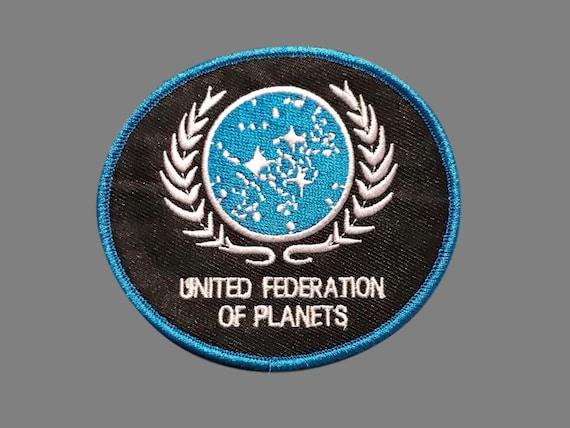 The Next Generation Headquarters UFP Logo Embroidered Patch UNUSED Star Trek