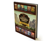National Park Coffee Table Book (61-Park Edition) by Anderson Design Group National Parks History Travel Poster Art Book