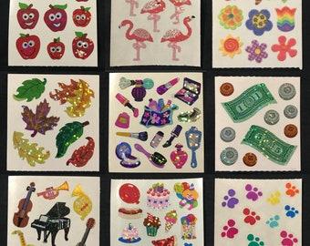 SANDYLION STICKER section 80er 90er papier Chevaux Sticker Autocollant Album