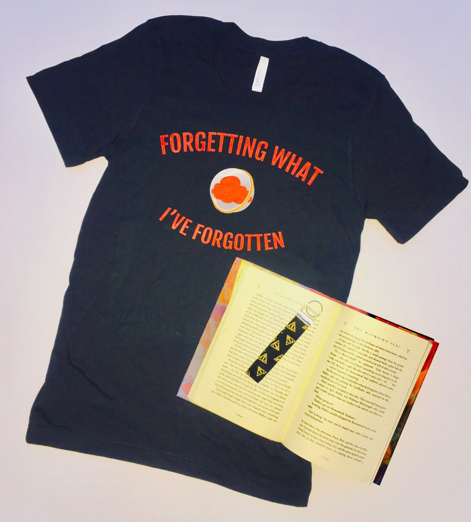 Harry Potter T-shirt with rememberall saying forgetting what I've forgotten