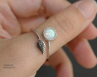 Silver Stone RingLariamar Stone RingHandmade Silver Stone Ring Silver RingStatement Stone RingRing Size US 4-12 Gift for women