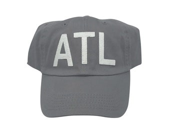 bf20c995 ATL Airport Code Hat (Any Color)
