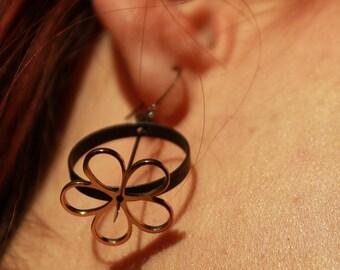 Flower Power - Turning earrings by Jessi Stead