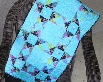 One-of-a-Kind Yoga Girls Small Quilted Runner