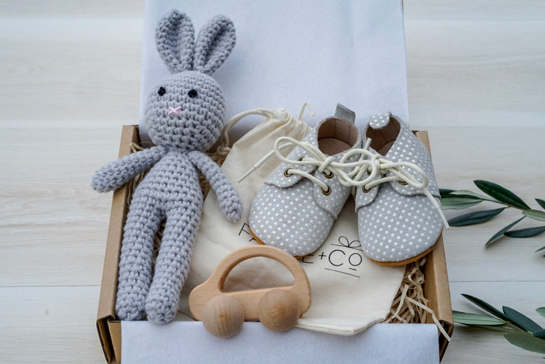 New Baby Gift Set Box Welcome Baby Gift Set Baby Shower Gift image 0