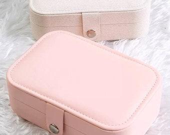 Pink Jewelry Box Etsy