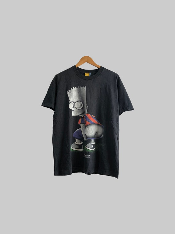 Size L   Vintage 1998 The Simpsons Bart Ass (King