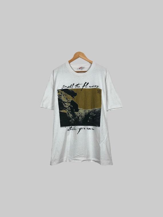 Vintage 1993 Pink Floyd Animals All Over Print Rock Promo 90s Vtg T Shirt Size L