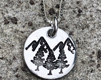 Life is a Beautiful Adventure Motivational Pendant with Sterling Silver Chain