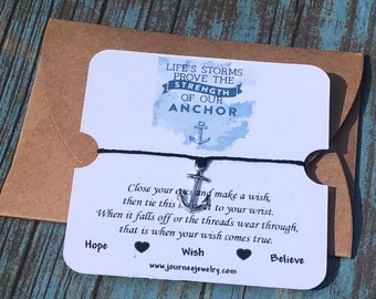 Life's Storms Prove the Strength of Our Anchor