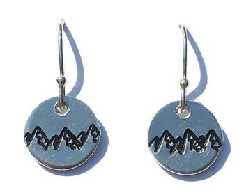 Mountains are Calling Earrings
