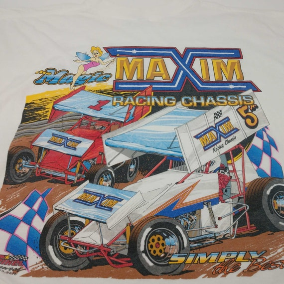 2000 Maxim Racing Chassis T-Shirt - Size XXL