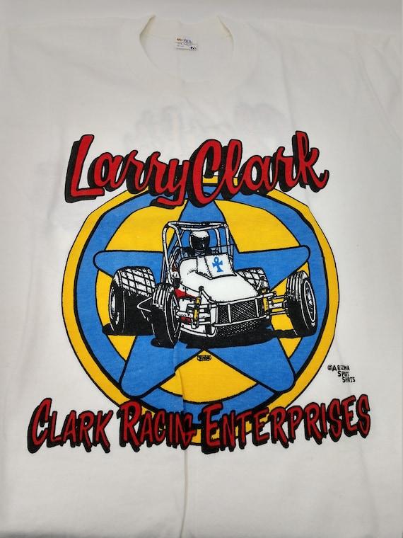Vintage Larry Clark Racing Enterprises T-Shirt - S